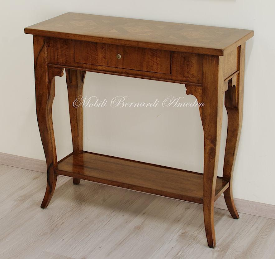 Consolle in legno 4 mobili da entrata for Consolle legno