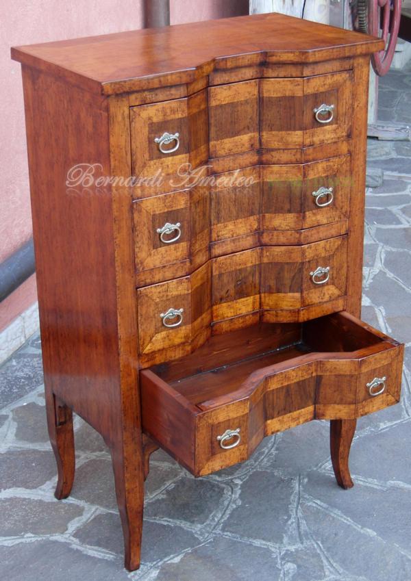 Cassettiere in legno vecchio mobili da entrata - Mobili da entrata ...