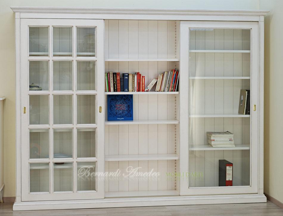 Libreria Con Ante Scorrevoli In Vetro Pictures to pin on Pinterest