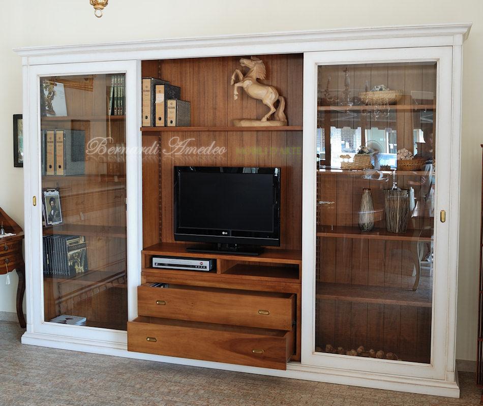 Librerie in legno 9 librerie for Mobili eva arredamenti