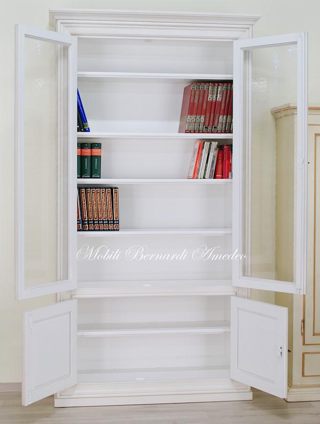 Librerie in legno 12 librerie - Libreria con ante ikea ...
