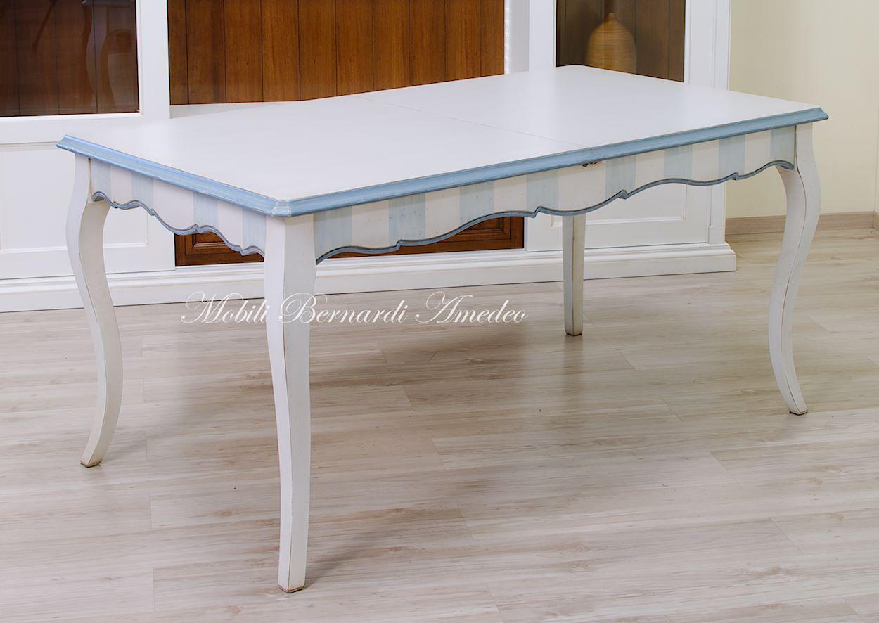 Mobili a prezzo scontato 19 mobili in svendita - Tavolo bianco anticato ...