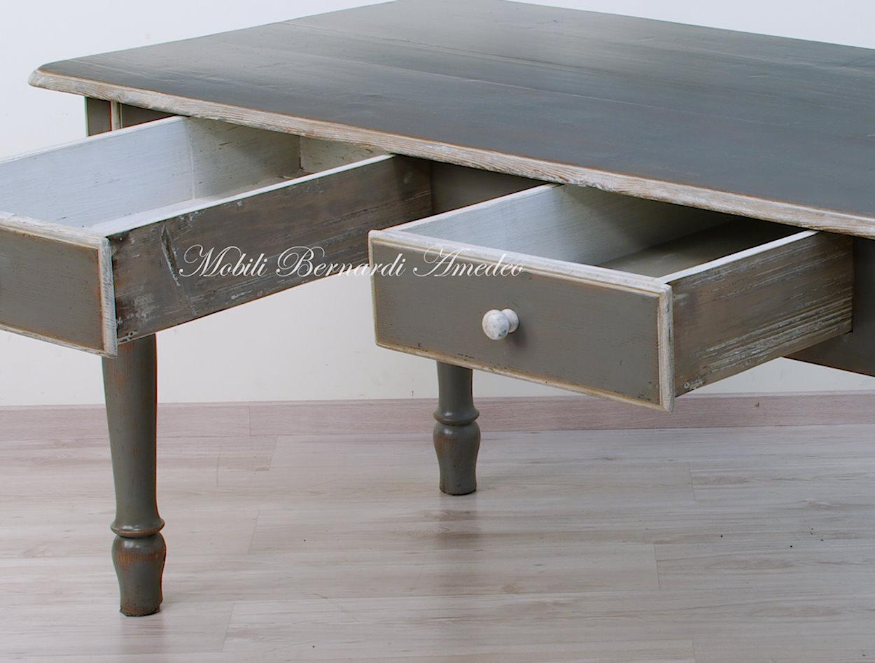 Tavoli antichi 2 mobili vecchi - Tavolo decapato ...