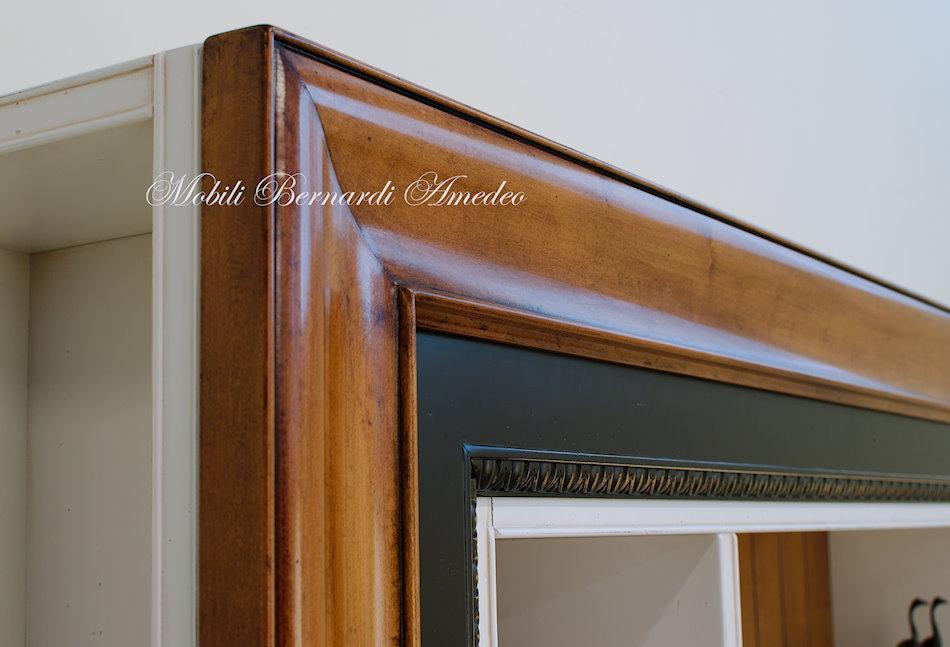 Libreria porta tv librerie for Cornice adesiva per pareti