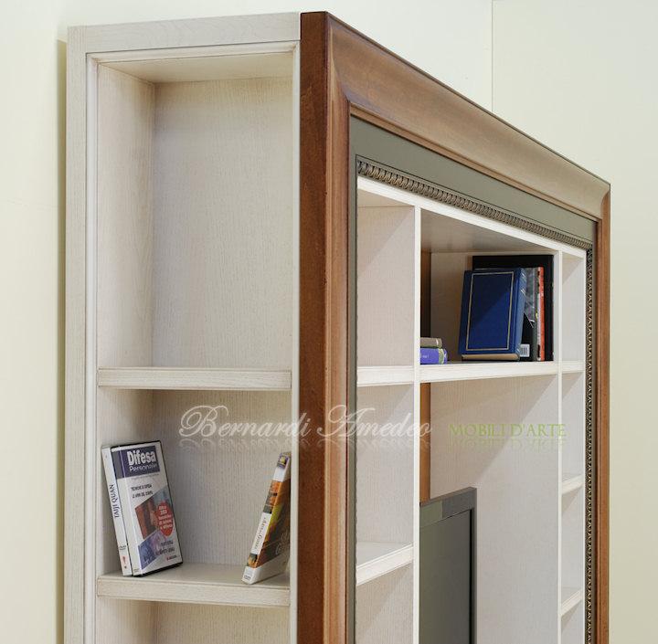 Libreria porta tv librerie - Cornice dei mobili ...