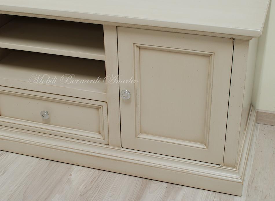 Porta tv in legno laccati 2 porta tv - Cambiare colore mobile legno ...