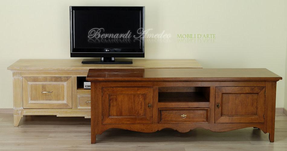 Mobili per tv prezzi design casa creativa e mobili ispiratori - Mobili per tv in legno ...