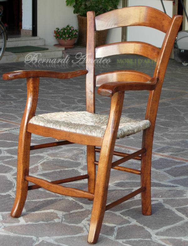 Sedie capotavola e dondoli campagnoli fatti a mano sedie - Sedie capotavola ...
