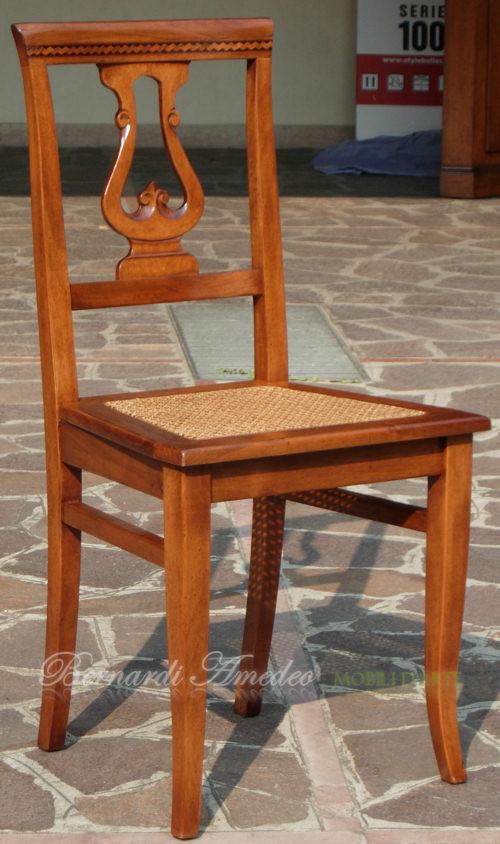 Sedie e poltroncine iv sedie poltroncine divanetti for Sedie acciaio e paglia di vienna