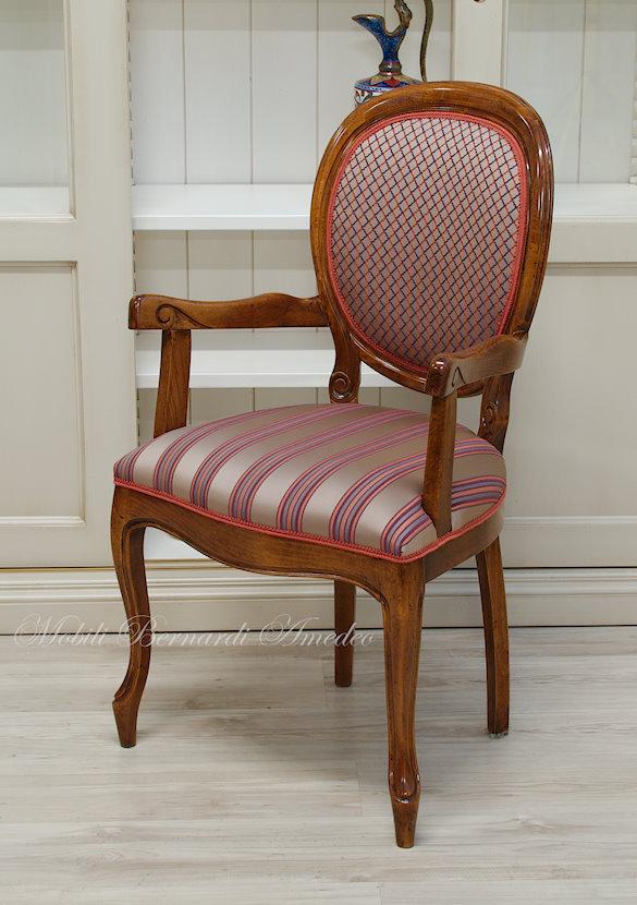 Sedie e poltroncine 13 sedie poltroncine divanetti for Sedia antica da scrivania