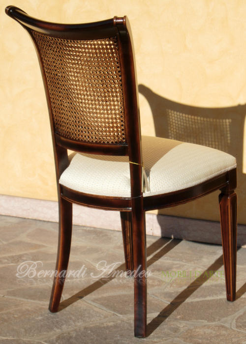 Sedie e poltroncine vii sedie poltroncine divanetti for Sedie acciaio e paglia di vienna