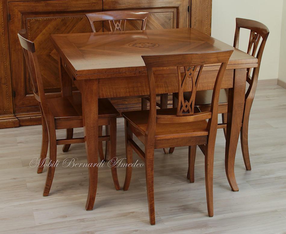 Tavoli in noce allungabili 1 tavoli - Meccanismo per tavolo allungabile ...