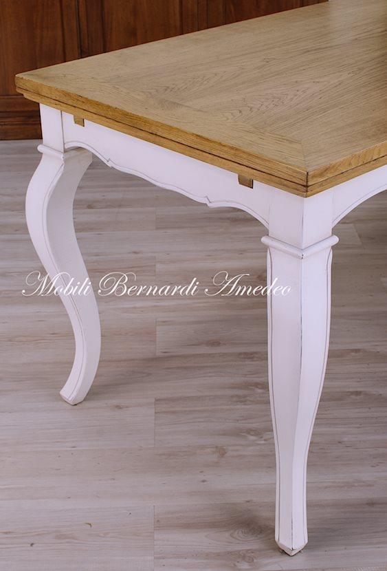 Tavoli allungabili 11 tavoli for Tavolo 140x80 allungabile legno