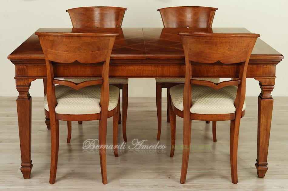 tavolo classico allungabile 14 tavoli
