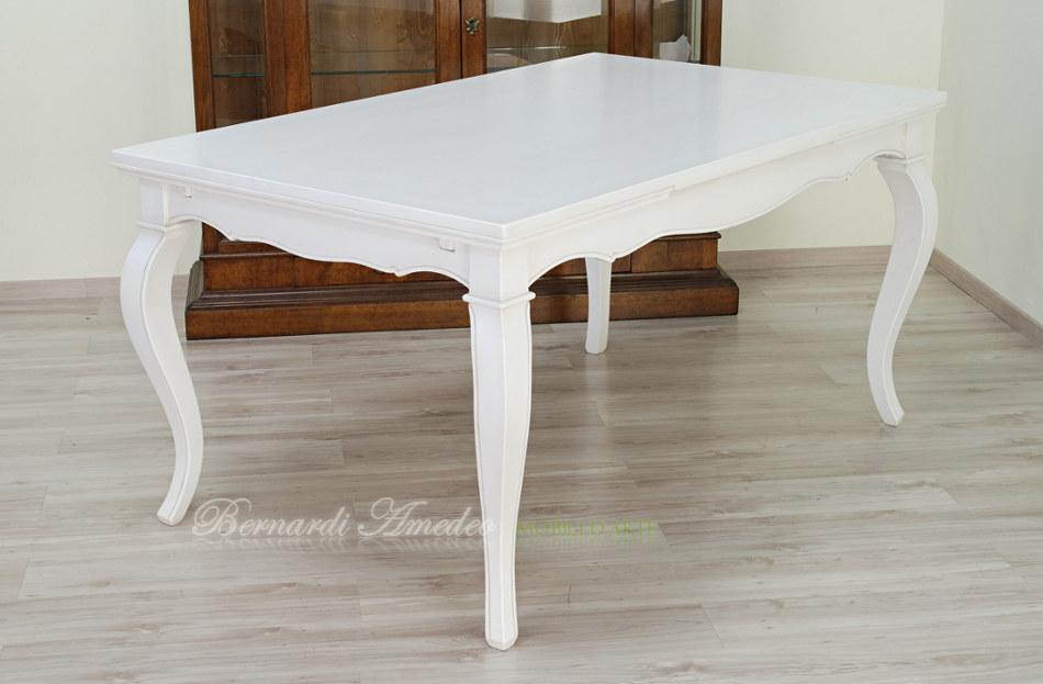 Tavoli allungabili laccati colorati tavoli for Tavolo cucina bianco allungabile