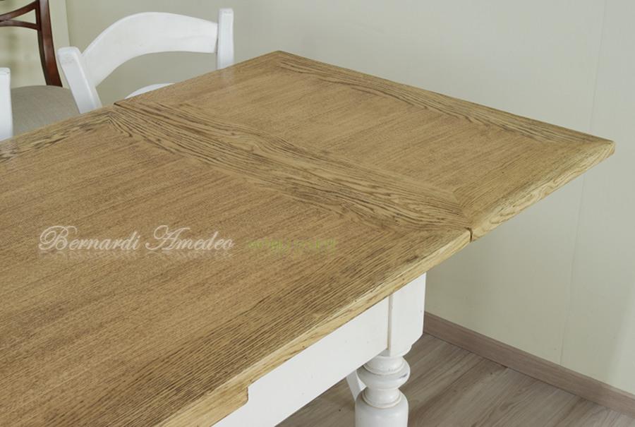 Tavoli country allungabili in abete tavoli for Tavoli rettangolari allungabili in legno