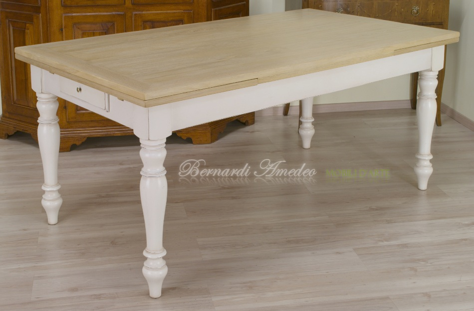 Gres effetto legno lucido for Calligaris tavoli allungabili