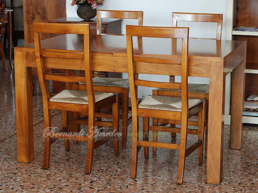 Tavoli allungabili in legno 13 tavoli - Tavolo in noce nazionale ...