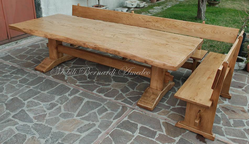 Tavoli fratino 3 tavoli - Panche e tavoli in legno per pub ...
