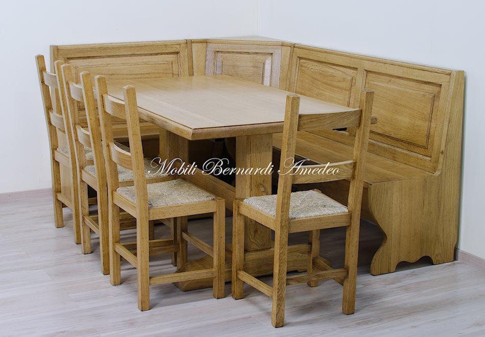 Panca in legno da tavolo ispirazione design casa - Tavolo pic nic ikea ...
