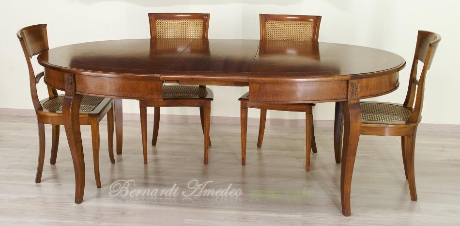 Tavolo rotondo allungabile 4 tavoli - Tavolo ovale allungabile ...