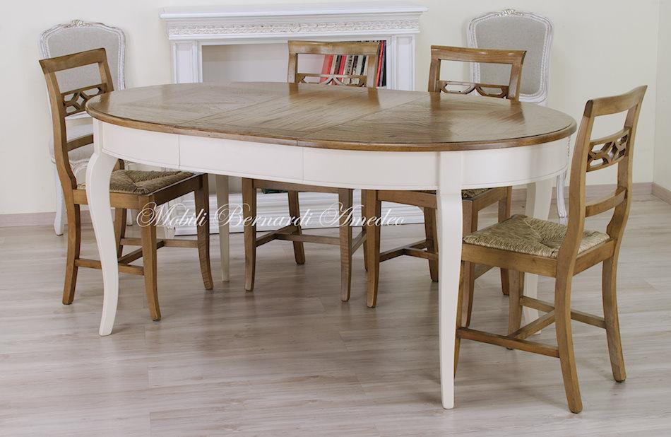 tavoli stile classico rotondi e ovali 6 tavoli