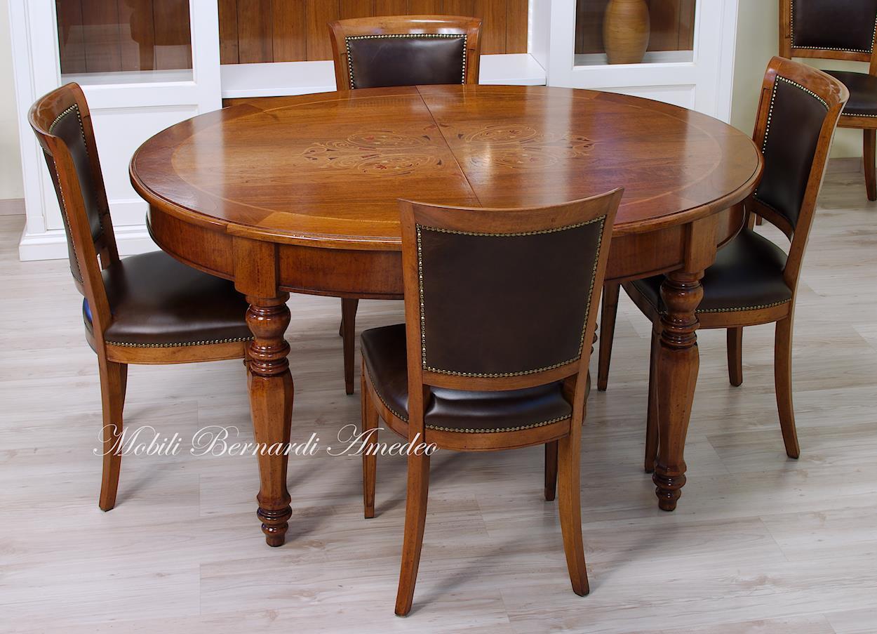 tavoli ovali e rotondi 8 tavoli