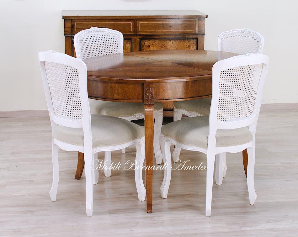 Tavoli ovali e rotondi allungabili tavoli - Tavolo ovale allungabile ...