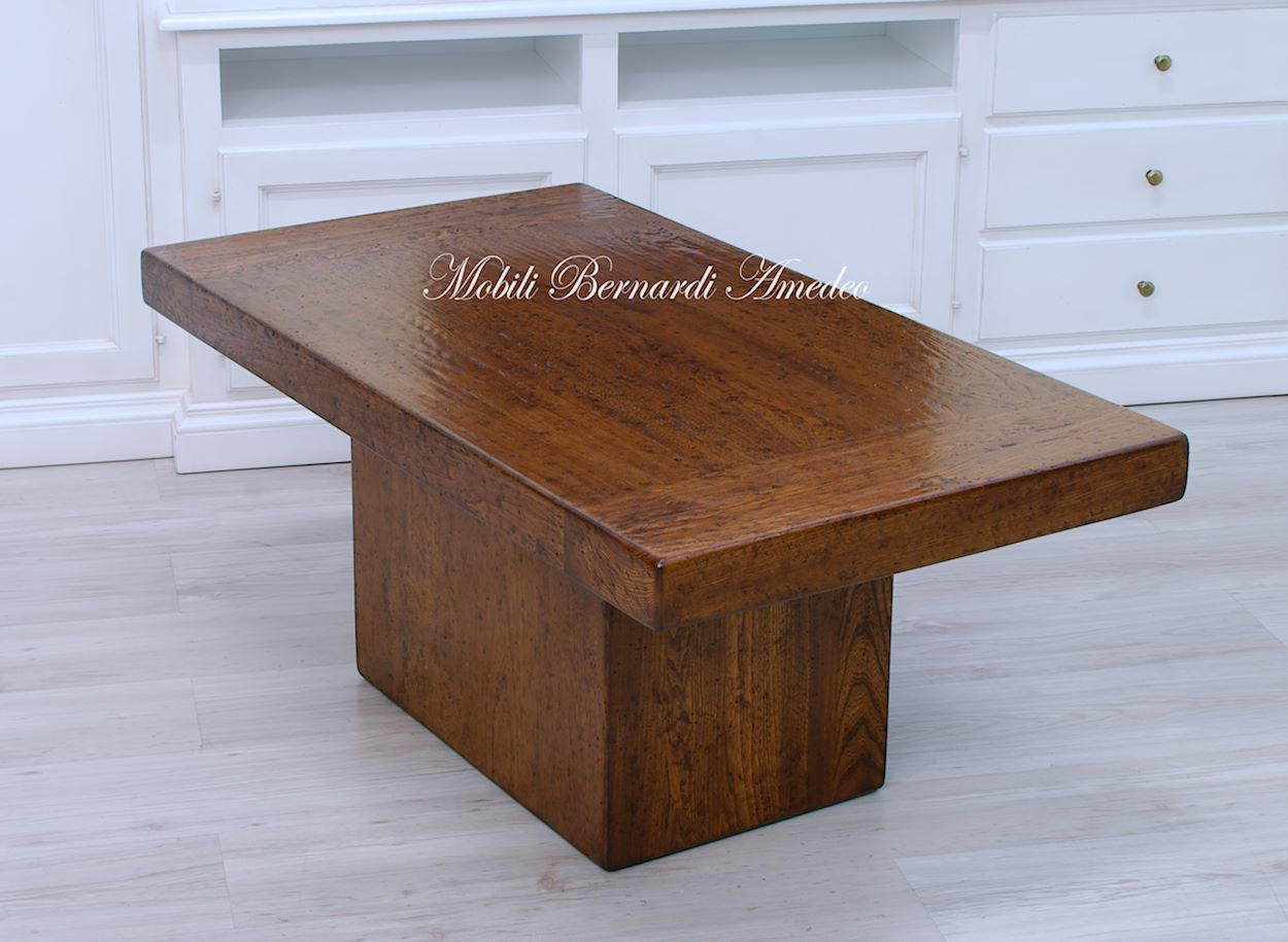 Tavolini da salotto legno massiccio tavolini for Tavolini da salotto apribili