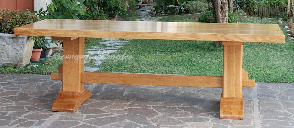 Tavoli fratino 2 tavoli - Tavolo in rovere naturale ...