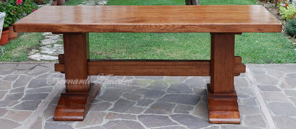 Tavoli fratino 2 tavoli - Tavoli in legno massello rustici ...