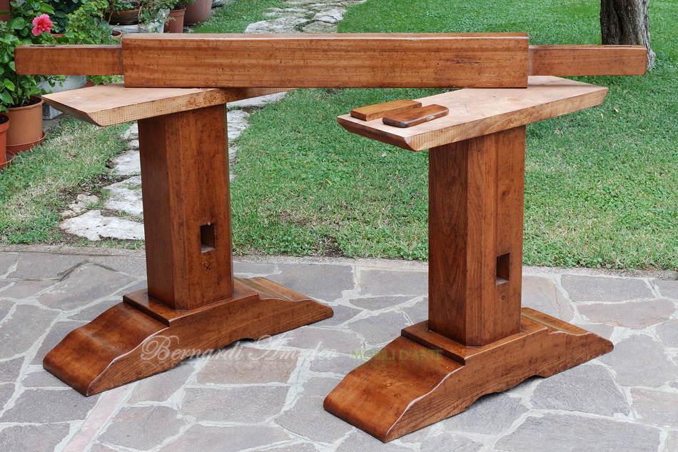 Tavoli fratino 2 tavoli - Piedi per tavolo in legno ...