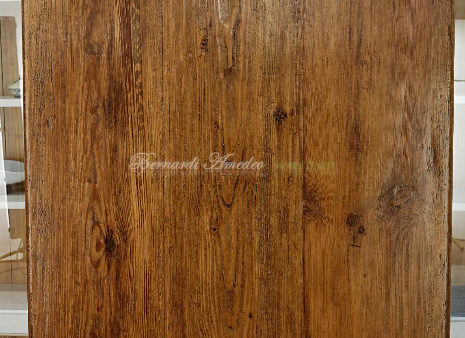 Tavolo in legno massello di larice antico