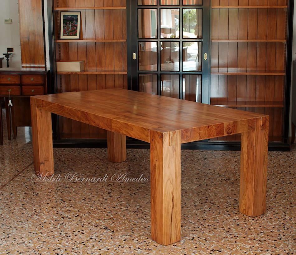 Tavoli e tavolini in ulivo massello tavoli - Tavolo legno massello ...