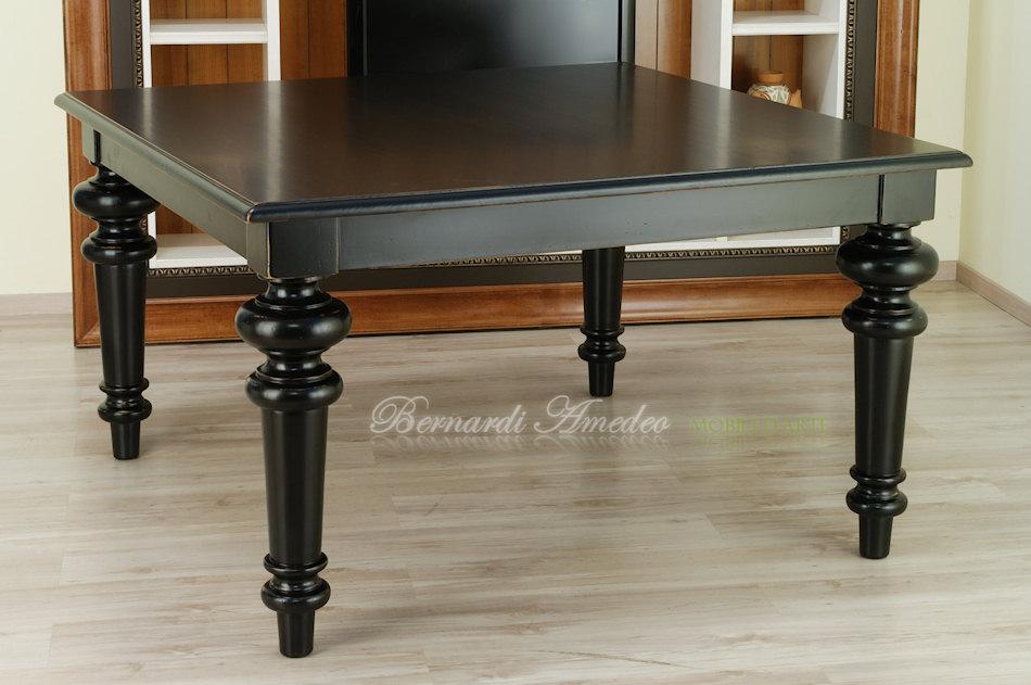 Ricerche correlate a Tavolo legno allungabile nero