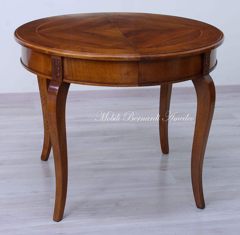 Tavoli ovali e rotondi allungabili 2 tavoli - Dimensioni tavolo tondo 4 persone ...