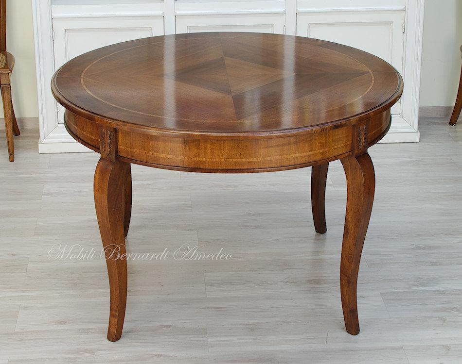 Tavolo rotondo allungabile 120 cm ultimi mobili aggiunti - Tavolo rotondo vetro diametro 120 ...