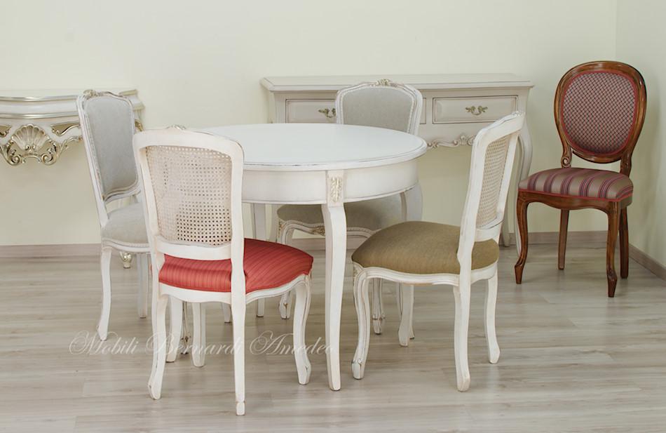 tavoli ovali e rotondi non allungabili tavoli