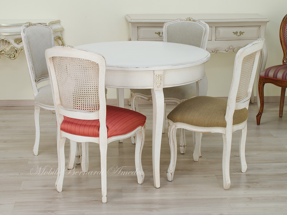 Tavoli ovali e rotondi non allungabili tavoli - Tavolo rotondo bianco allungabile ...
