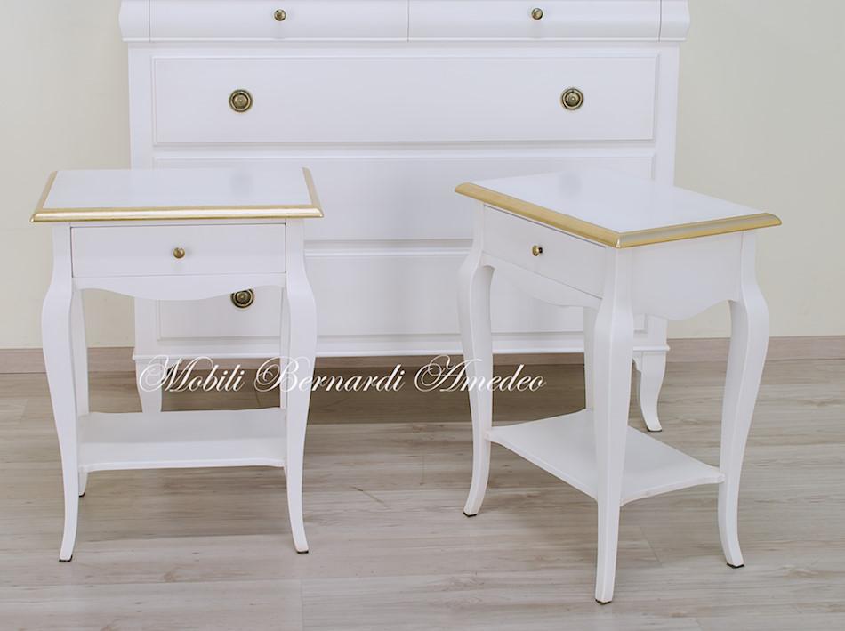 Comodini laccati bianchi mobiletti e comodini tavolini for Melaminico wikipedia