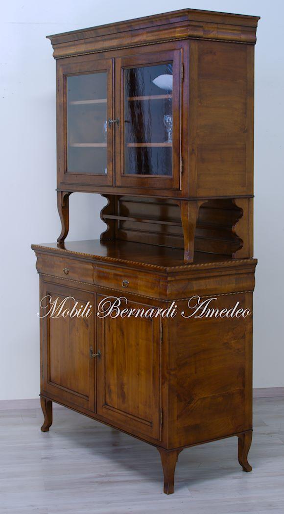 Credenze legno vecchio cassetto sagomato 2 credenze - Mobili legno vecchio ...