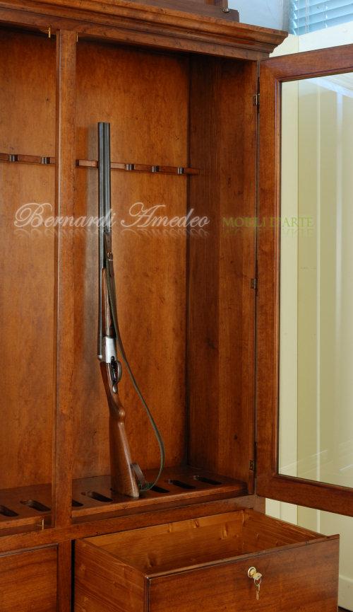 fuciliere in legno blindate Una vasta selezione di armadi corazzati portafucili, fuciliere e con o senza rivestimento esterno in legno che abbina alla sicurezza.