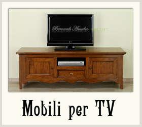 Mobili per la zona giorno mobili classici - Mobili porta tv classici ...