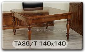 Tavolo Quadrato 140 X 140.Indice Dei Tavoli Allungabili Tavoli