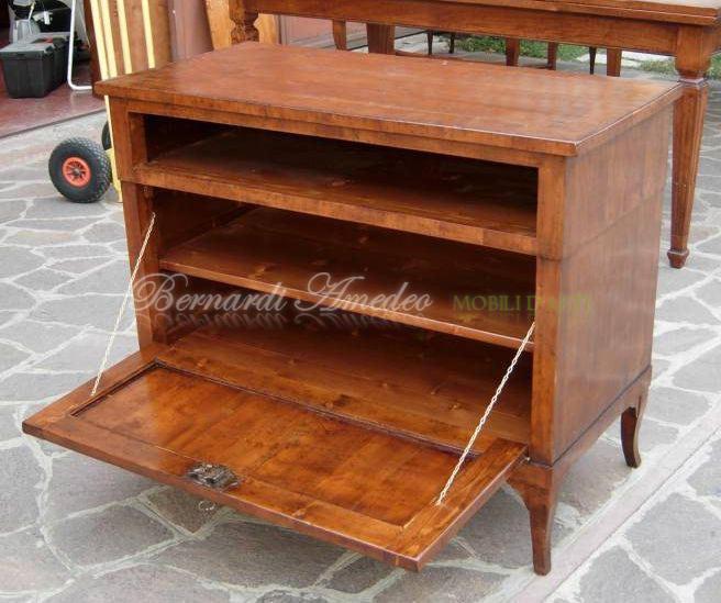 Porta tv legno vecchio porta tv - Porta dvd in legno ...