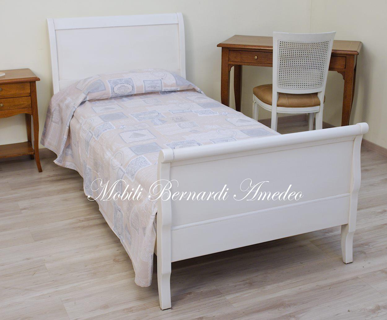 Letti a barchetta in legno letti - Letto legno bianco ...