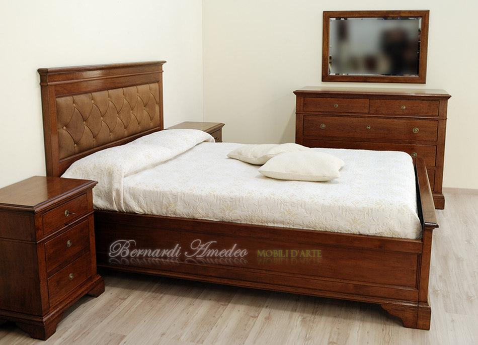 Letti in noce letti - Testiera letto legno ...