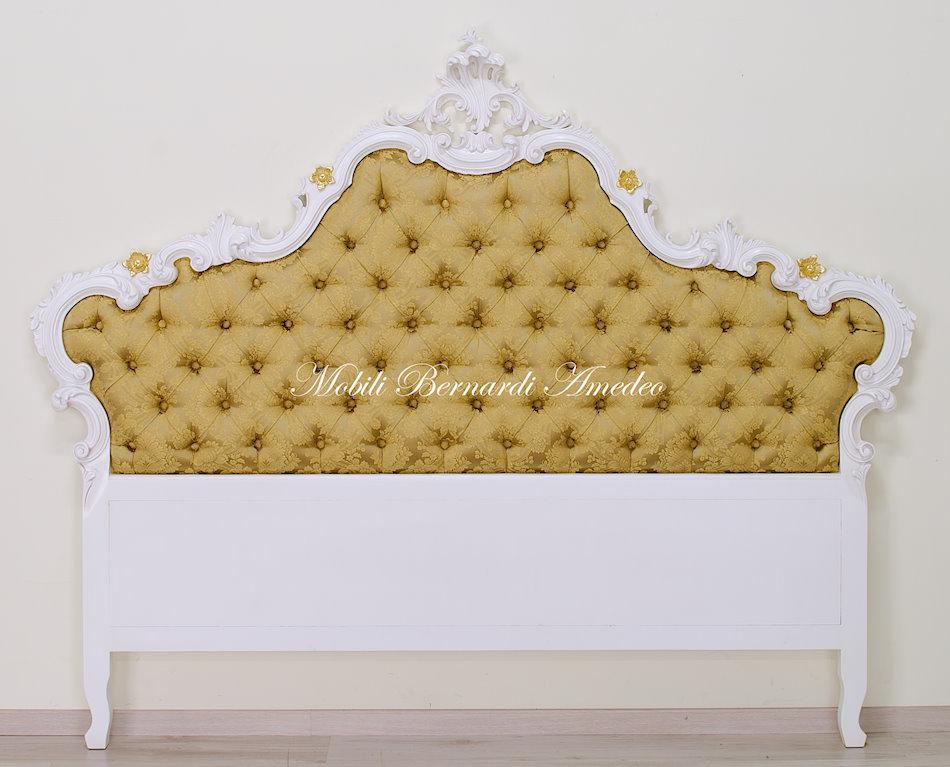 Letto barocco laccato letti - Testiera letto tessuto ...