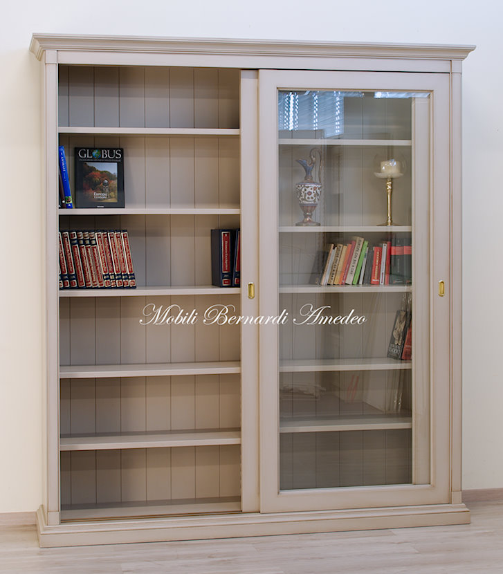 Libreria Ante Scorrevoli Vetro.Librerie 6 Librerie