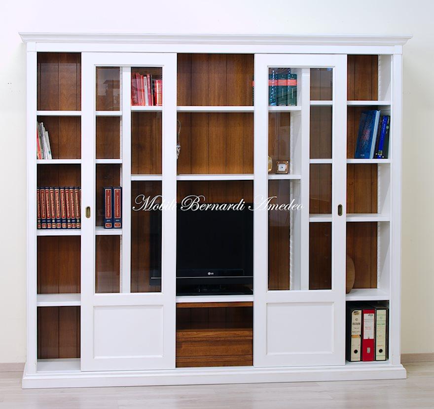 Librerie in legno 9 librerie - Libreria mobile tv ...